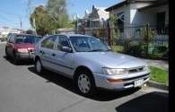 Picture of Geoffrey's 1996 Toyota Corolla