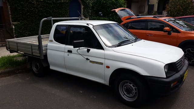 Picture of David's 2000 Mitsubishi Triton