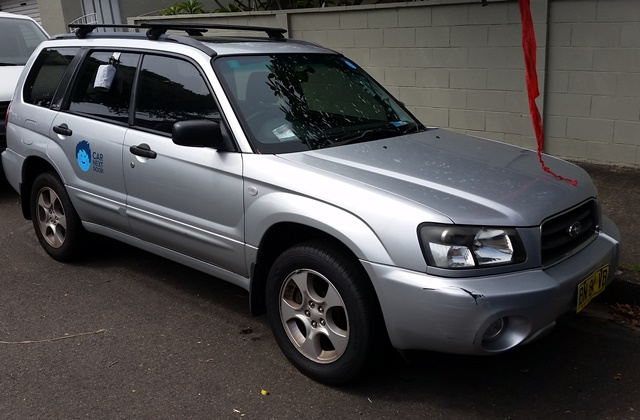 Picture of James' 2003 Subaru Forester