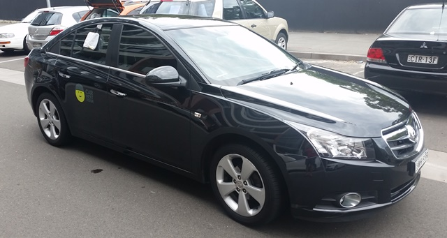 Picture of Anthony's 2011 Holden Cruze