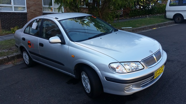 Picture of Karin's 2000 Nissan Pulsar