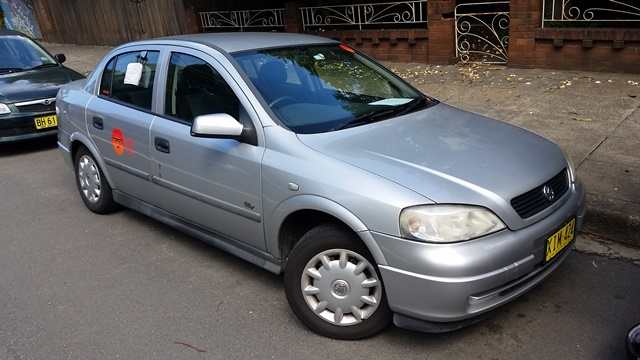 Picture of Julian's 2001 Holden Astra
