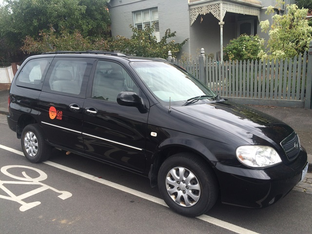 Picture of Martin's 2005 Kia Carnival - Wheelchair Accessible
