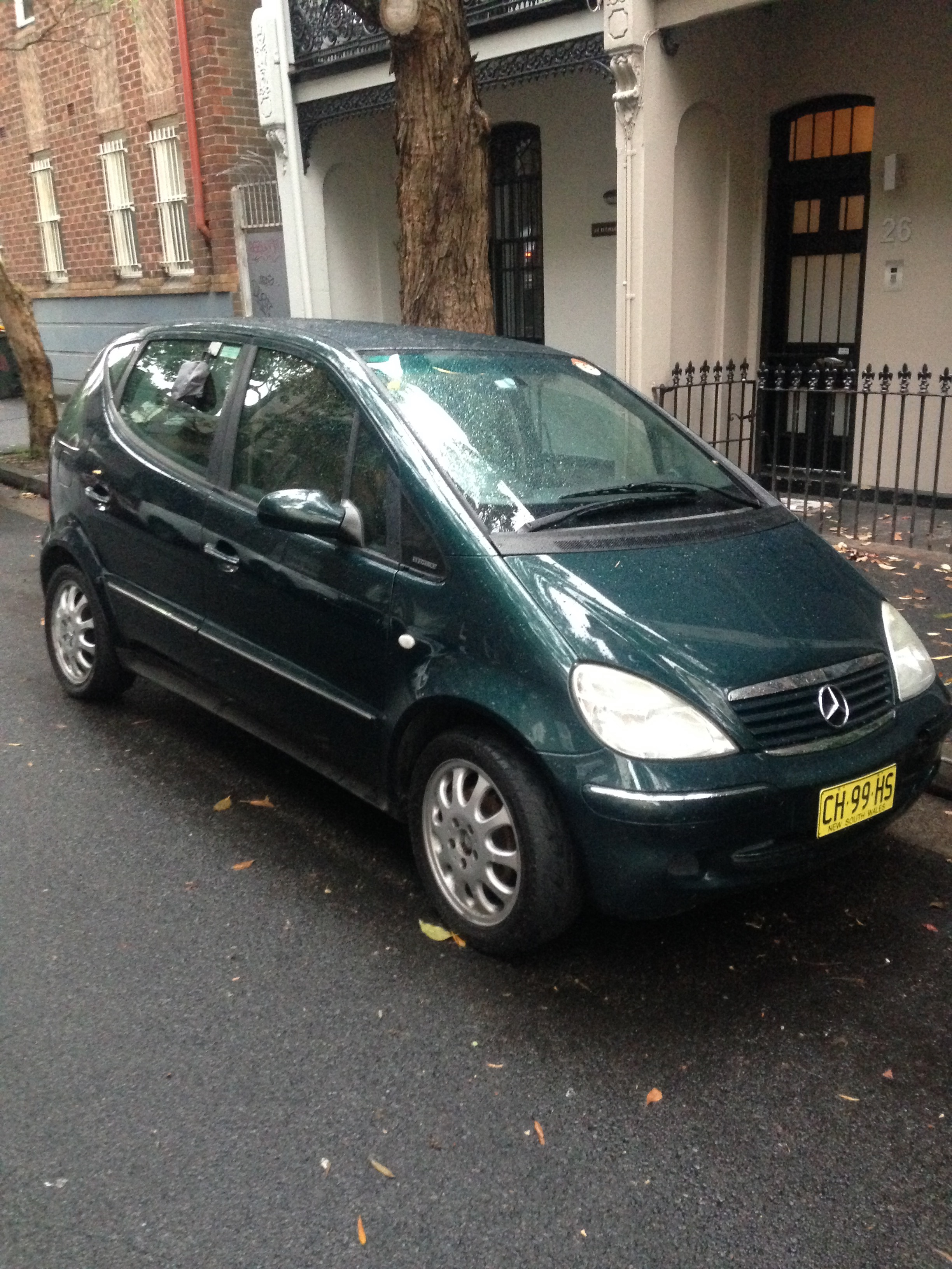 Picture of Timothy's 2002 Mercedes A190