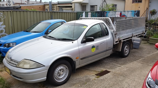 Picture of John's 2000 Ford AU Flat Bed Ute
