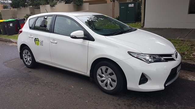 Picture of Cally's 2014 Toyota Corolla Hatchback