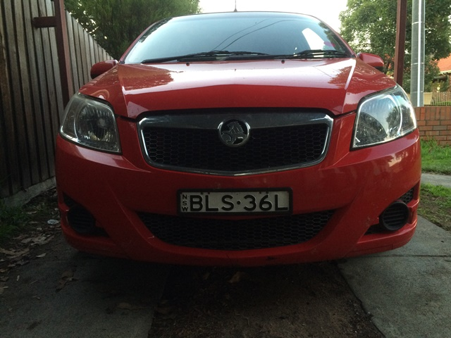 Picture of Mark's 2009 Holden Barina