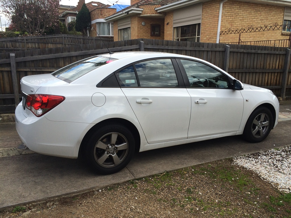 Picture of Raymond's 2011 Holden Cruze