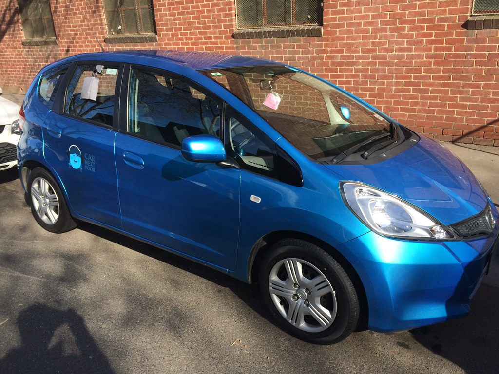 Picture of Kate's 2012 Honda Jazz