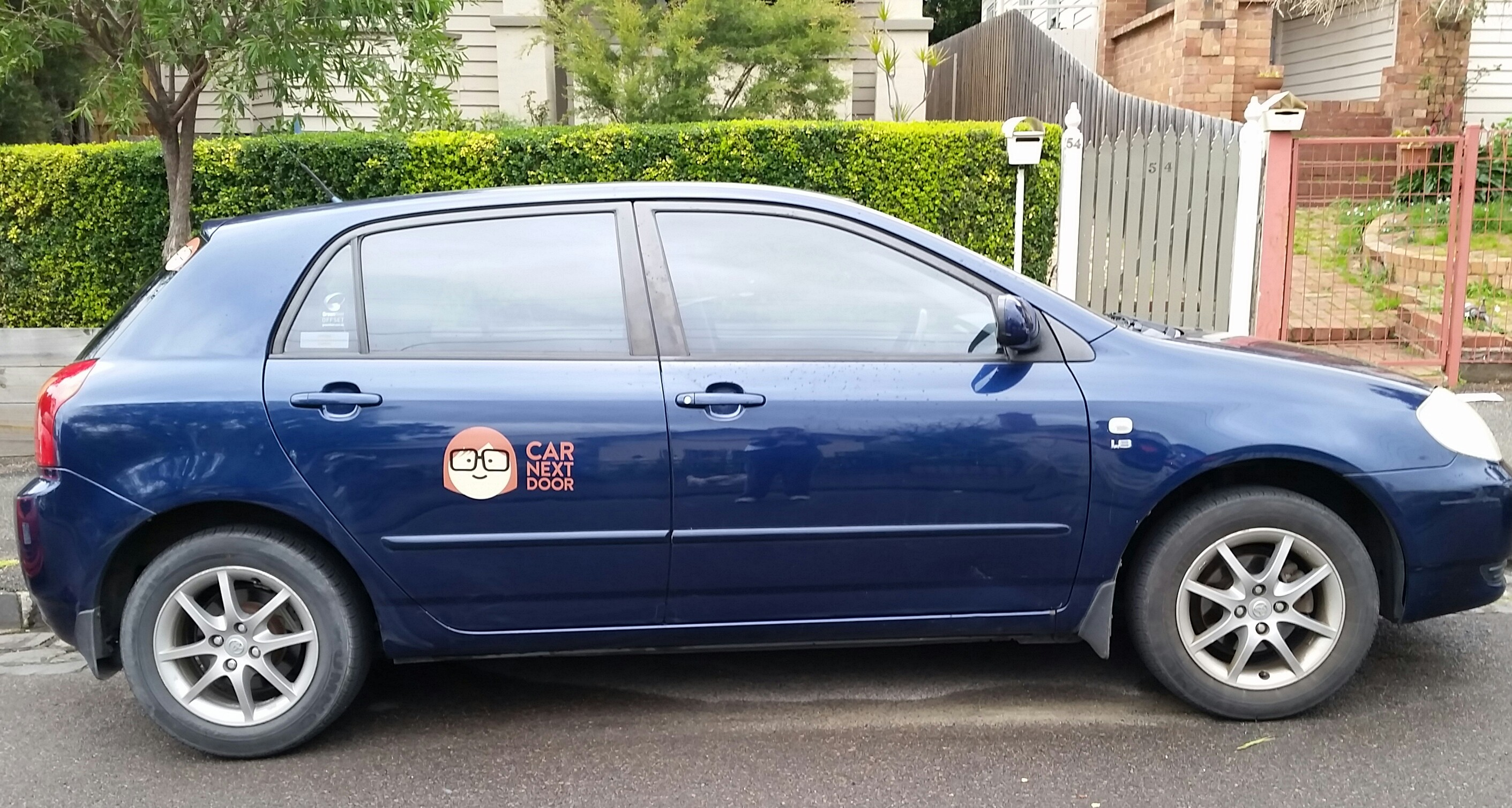 Picture of Andi's 2003 Toyota Corolla