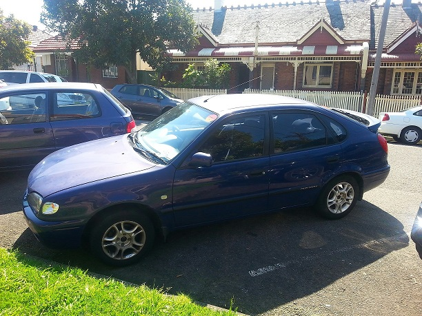 Picture of Ann's 2000 Toyota Corolla