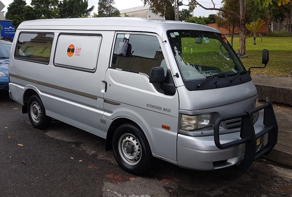Picture of Johannes' 2001 Ford Econovan