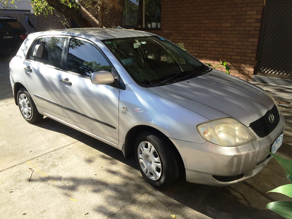 Picture of Ying's 2003 Toyota Corolla