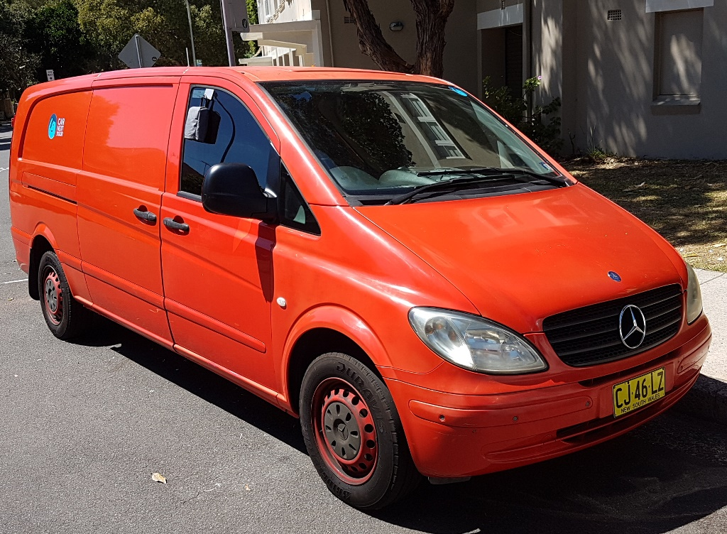 Picture of Charles' 2008 Mercedes Vito