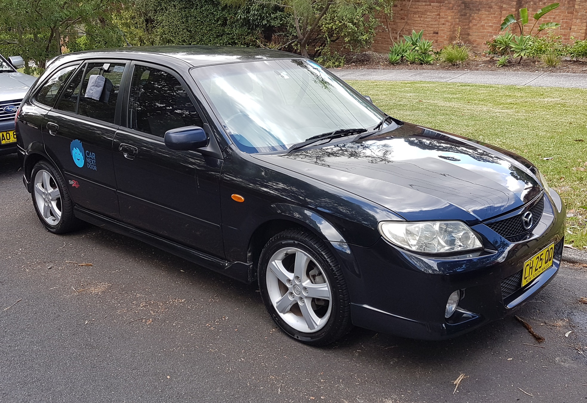 Picture of Beau's 2003 Mazda 323 (SP20)