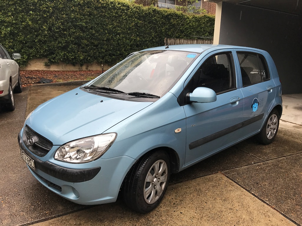 Picture of Rachael's 2009 Hyundai Getz