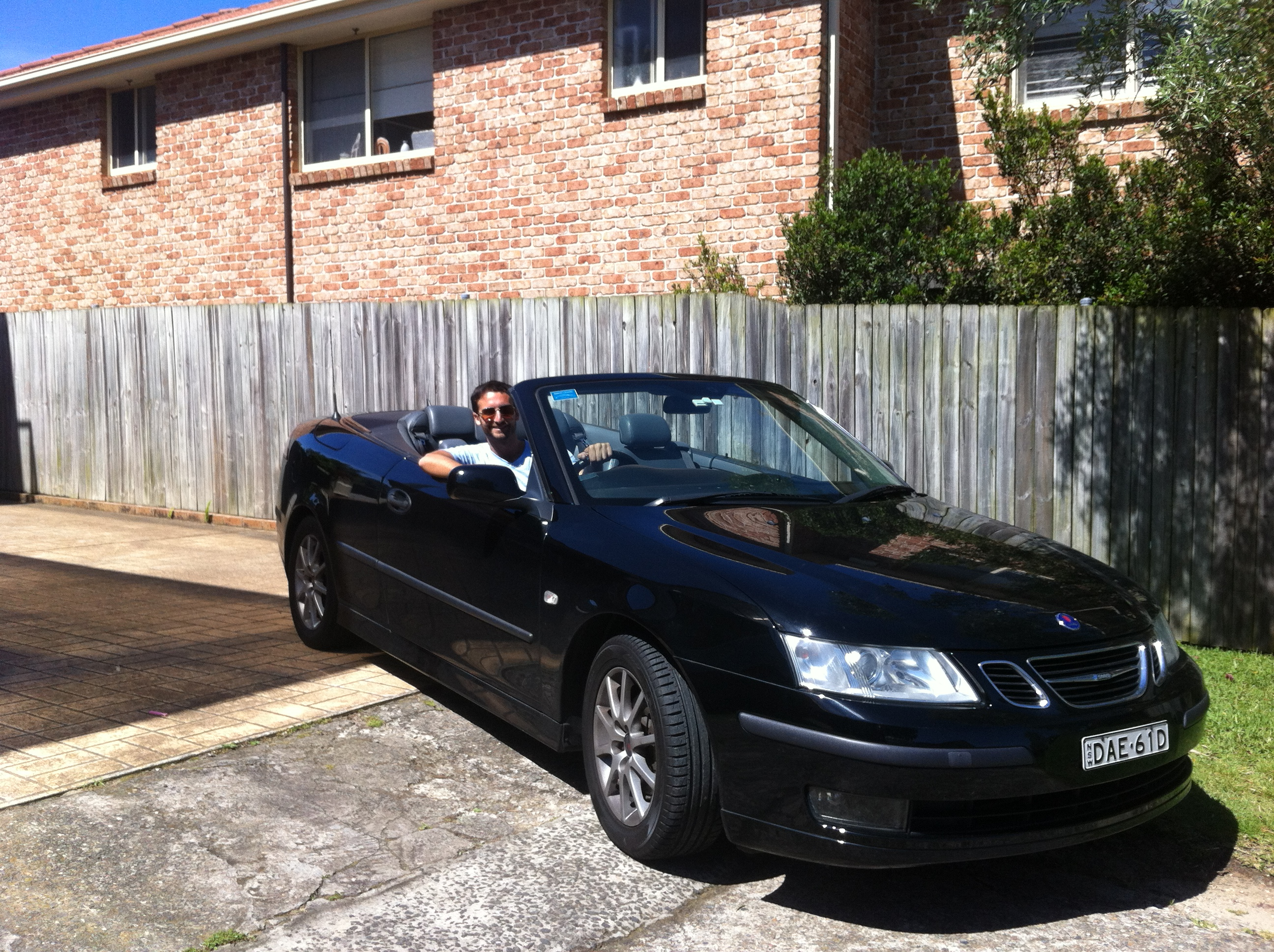 Picture of Jon's 2003 Saab 9-3 Convertible