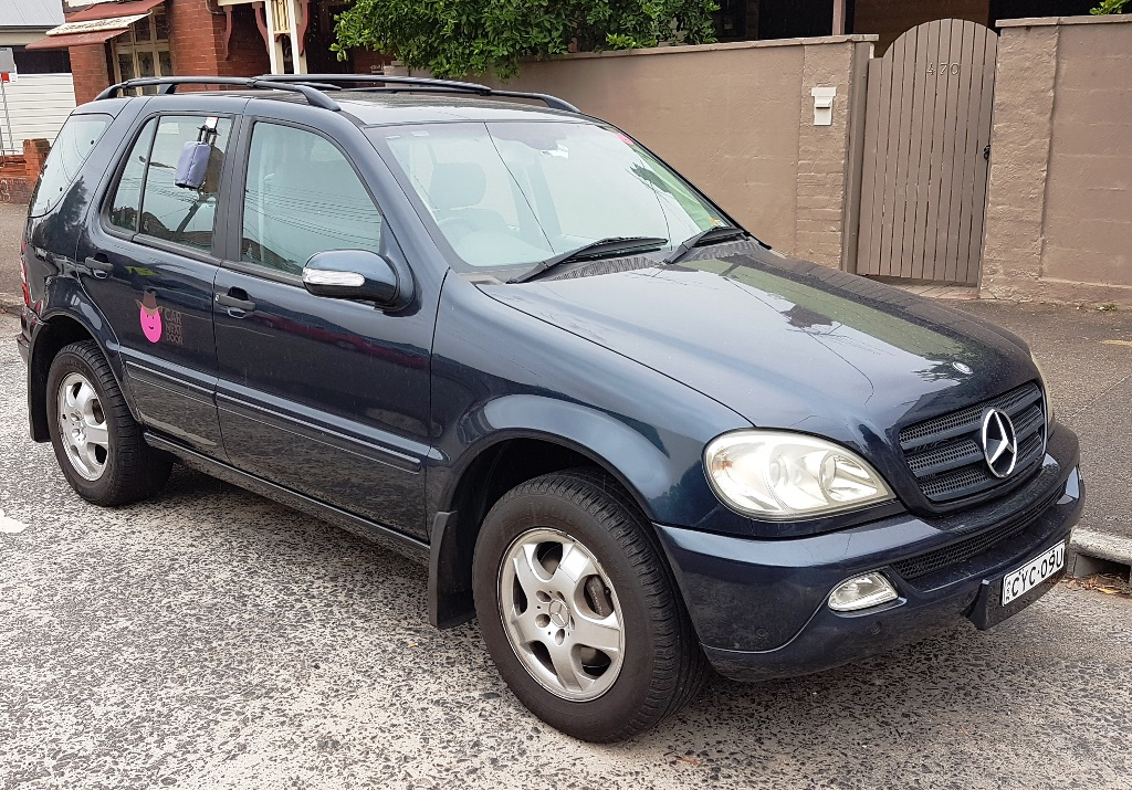 Picture of Matt's 2005 Mercedes ML350
