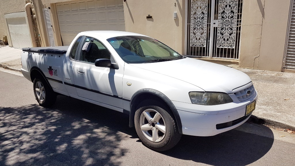 Picture of Thomas' 2005 Ford Falcon Ute