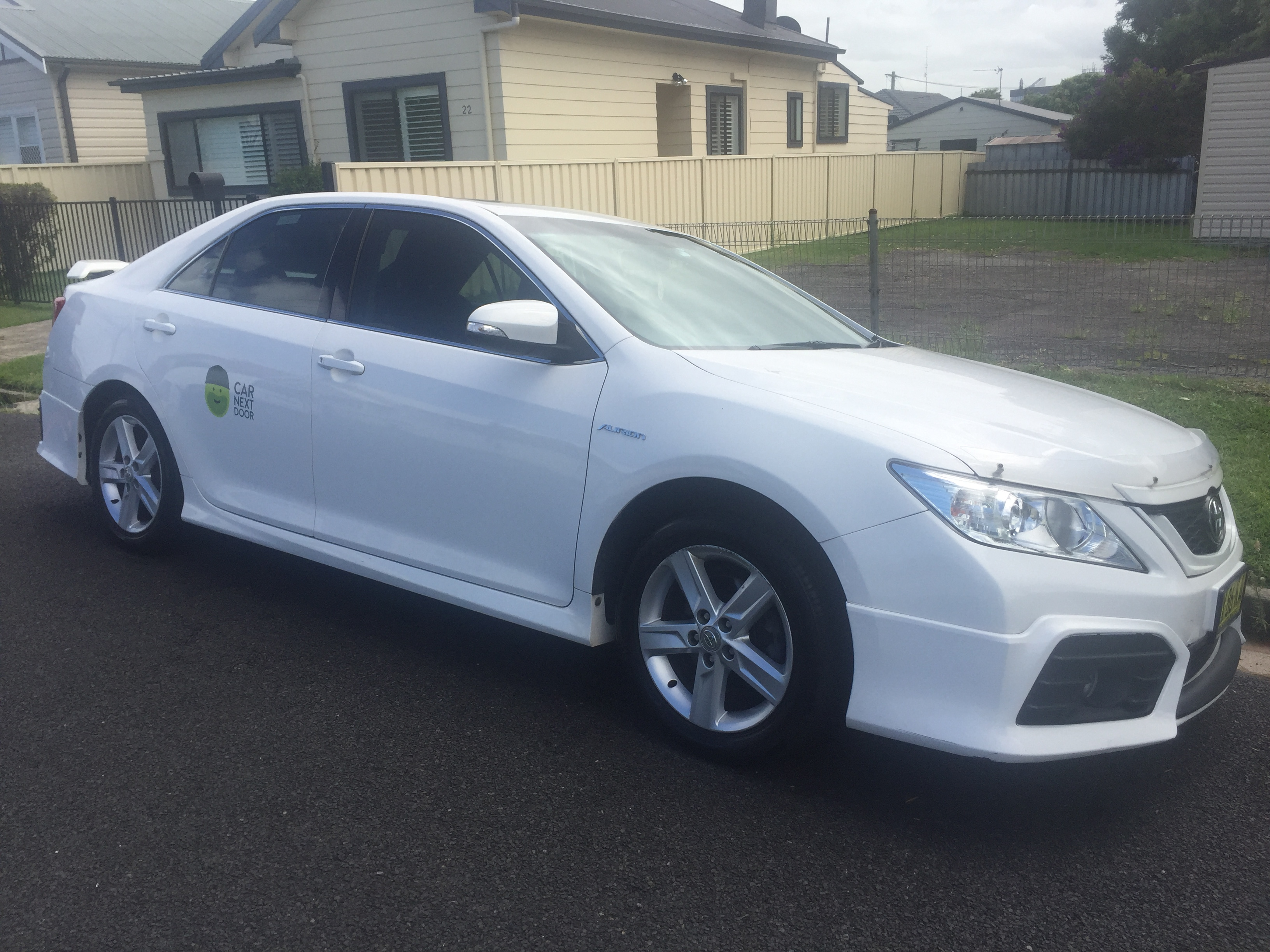 Picture of Jayden's 2012 Toyota Aurion