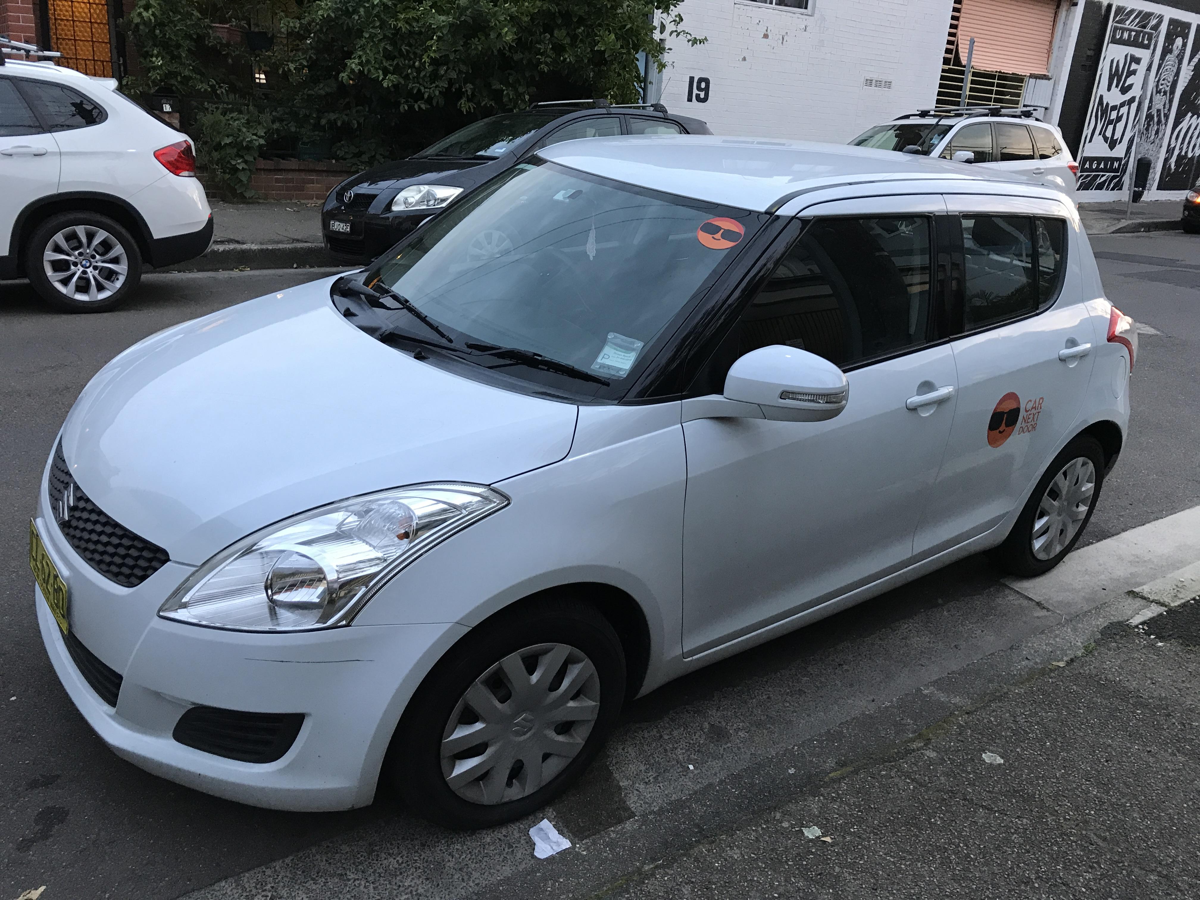 Picture of Hannah's 2011 Suzuki Swift