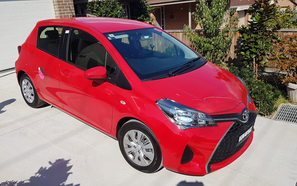 Picture of Christal Jade's 2017 Toyota Yaris