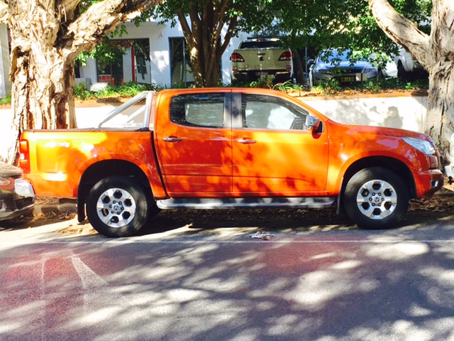 Picture of Andrew's 2014 Holden Colorado