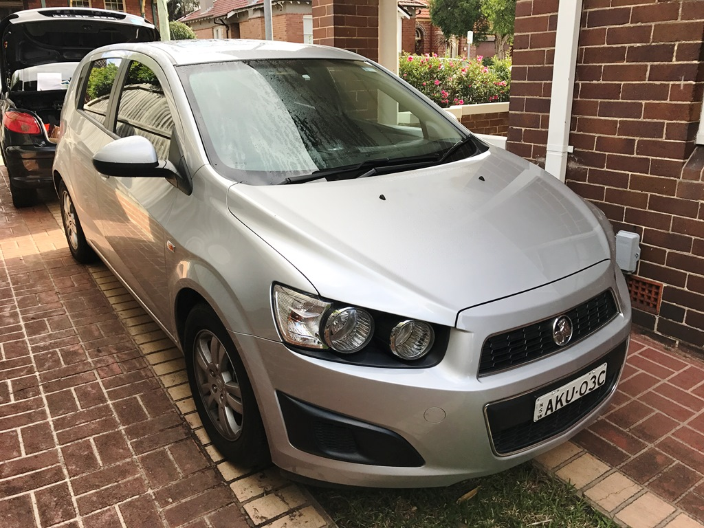 Picture of Bradley's 2012 Holden Barina