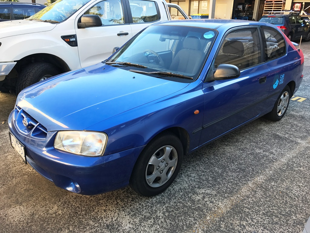 Picture of Lucy's 2002 Hyundai Accent