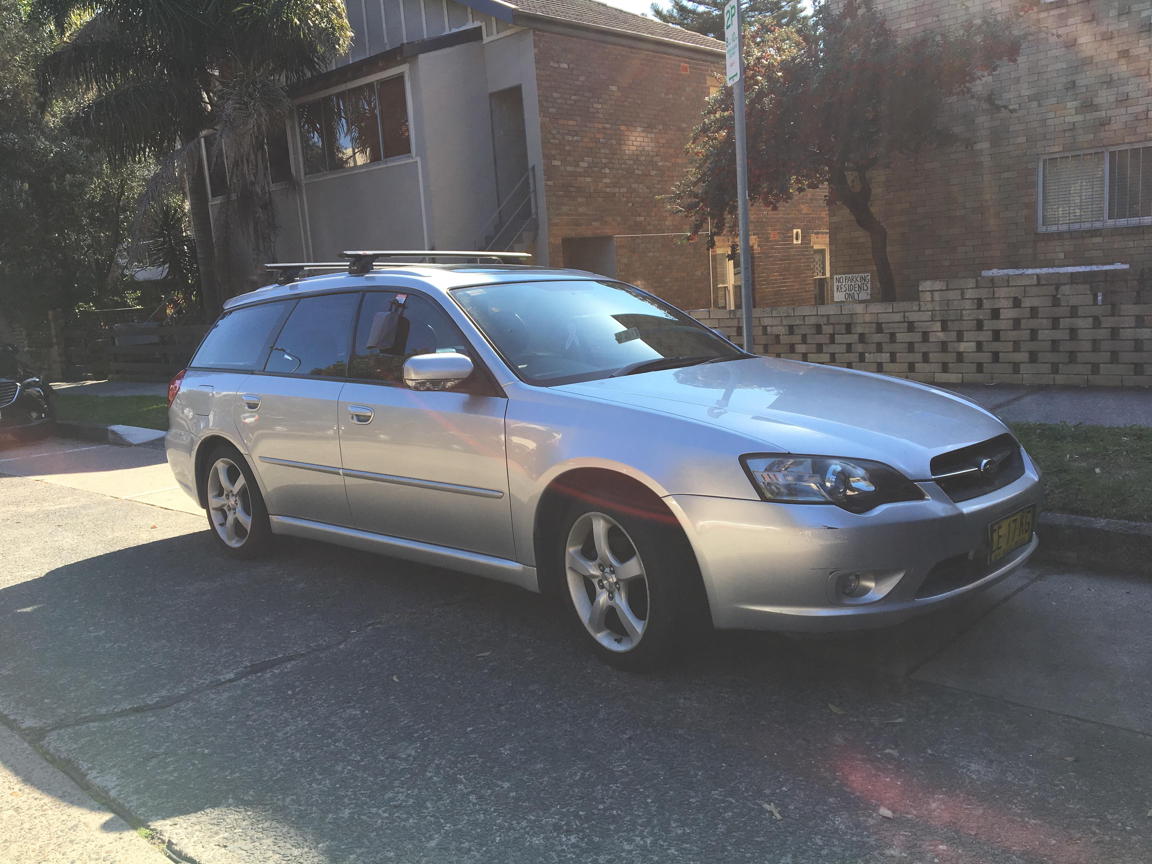 Picture of Max's 2004 Subaru Liberty