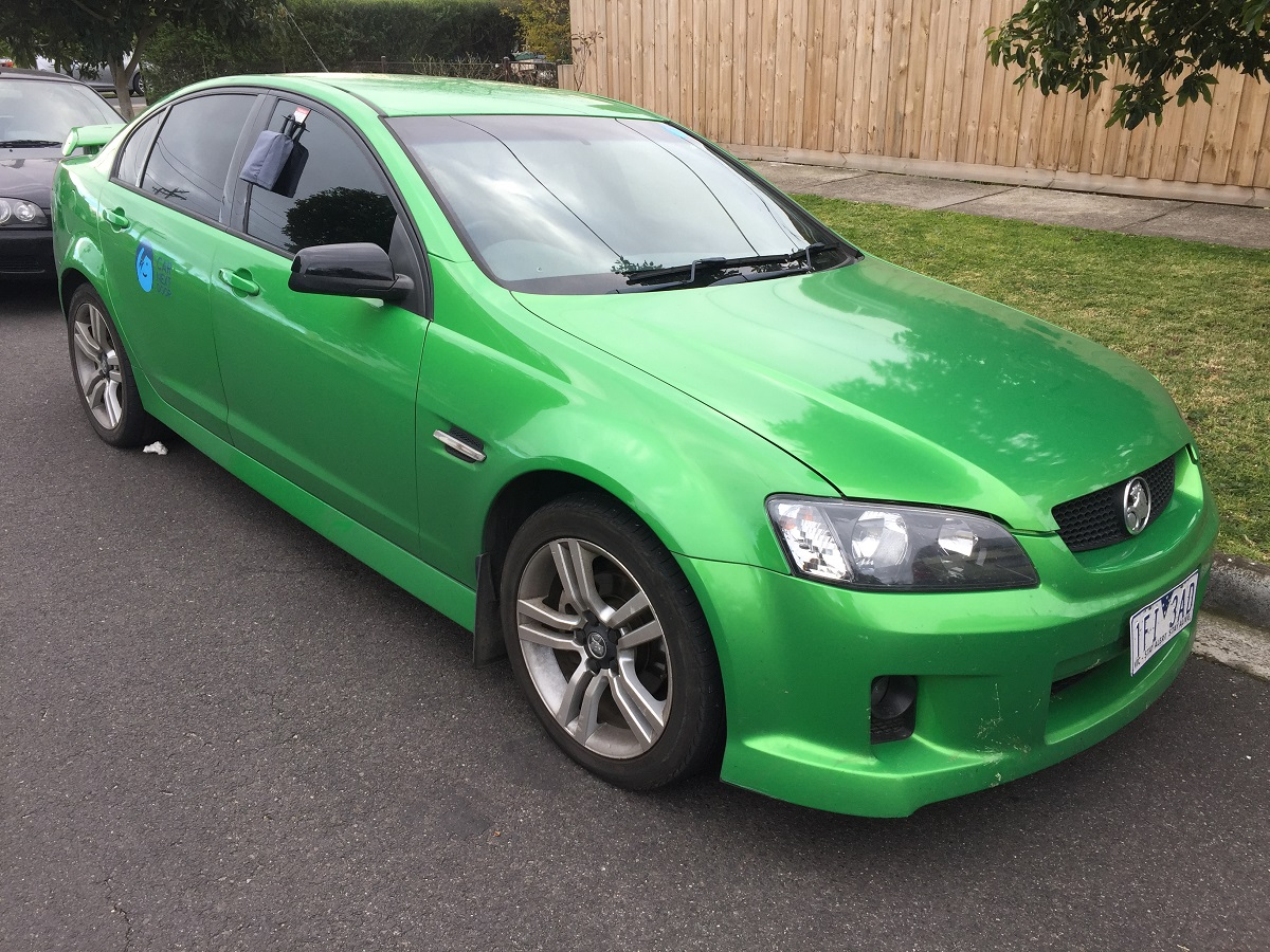 Picture of Corey's 2008 Holden Commodore