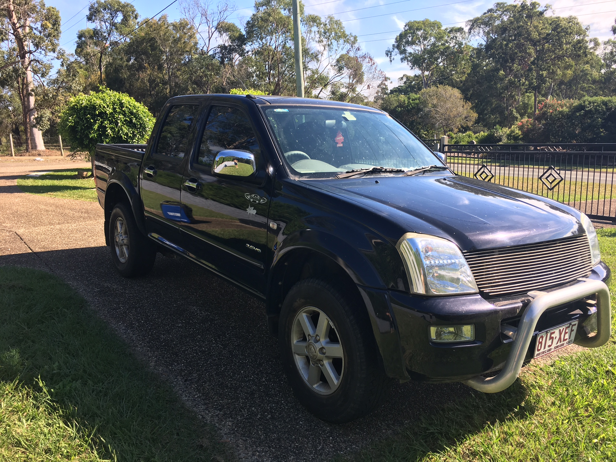 Picture of Luke's 2005 Holden Rodeo