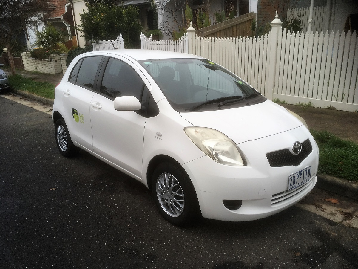 Picture of Jules' 2007 Toyota Yaris