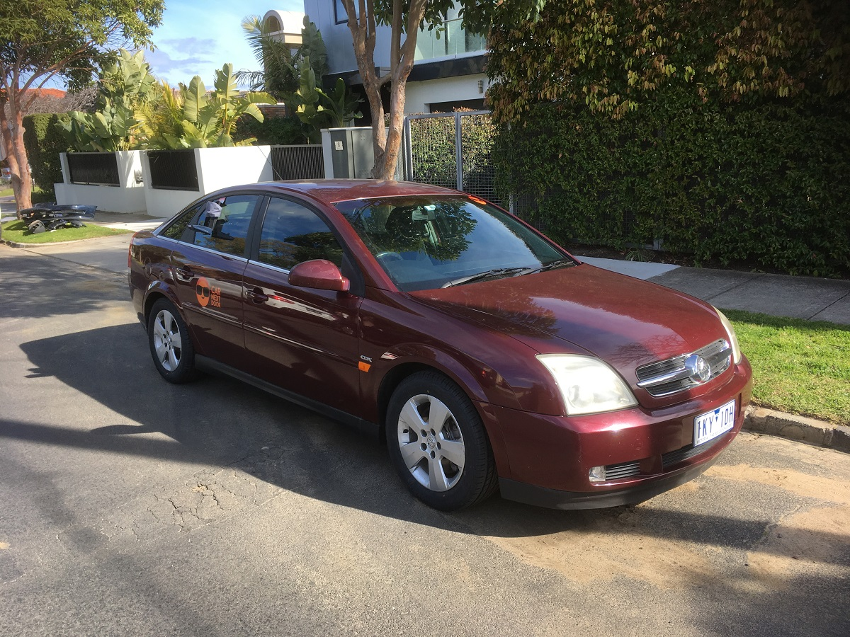 Picture of Aby's 2003 Holden Vectra